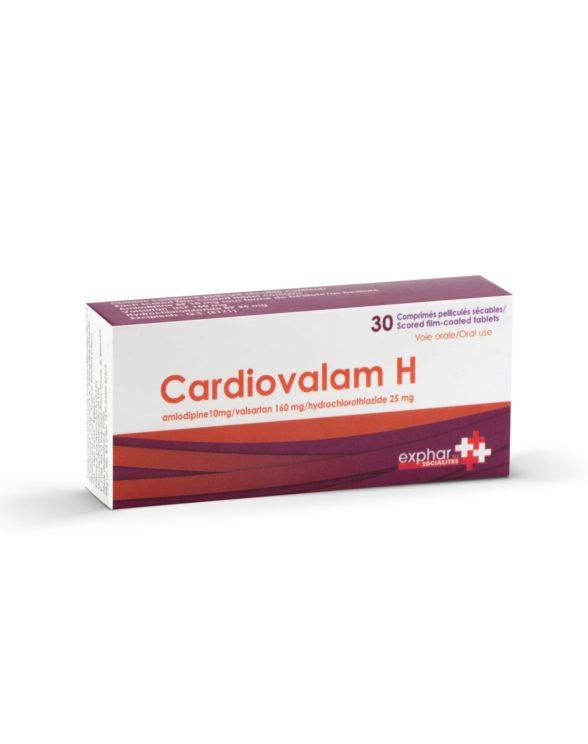 Le Cardiovalam H - médicament cardiologique par exphar